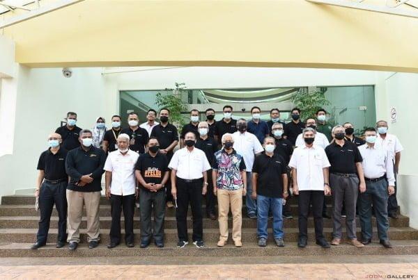 Visits of Felda Chairman Dato' Idris Yusof – 10 November 2020